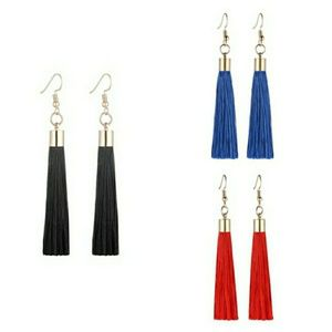 Jewelry - Tassel Earrings 3-Piece Bundle